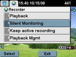 Encrypted voice recording and silend monitoring for unified communications